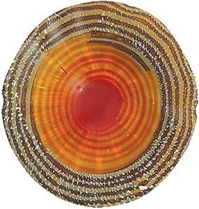 Dale Tiffany Handover Art Glass Wall Decor Plate