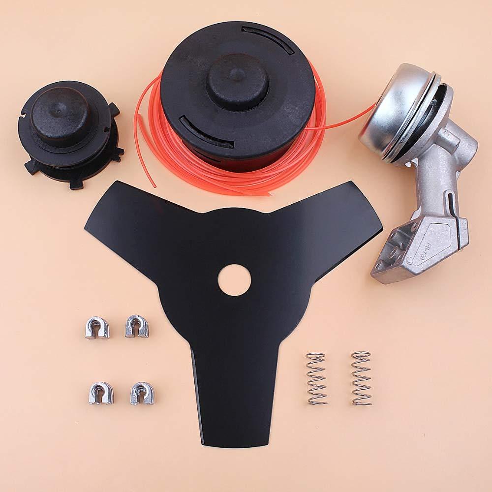 Laliva tools - Trimmer Gear Head Gearbox Spool Blade Line Kit for STIHL FS120 FS200 FS250 FS55 FS75 FS80 FS85 Grass Trimmer Brushcutter Parts