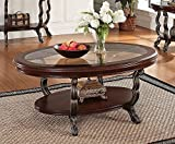 ACME 80120 Bavol Coffee Table, Brown Cherry Finish Review