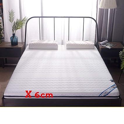 Amazon.com: Colchoneta de látex para cama de 3.9 in de ...