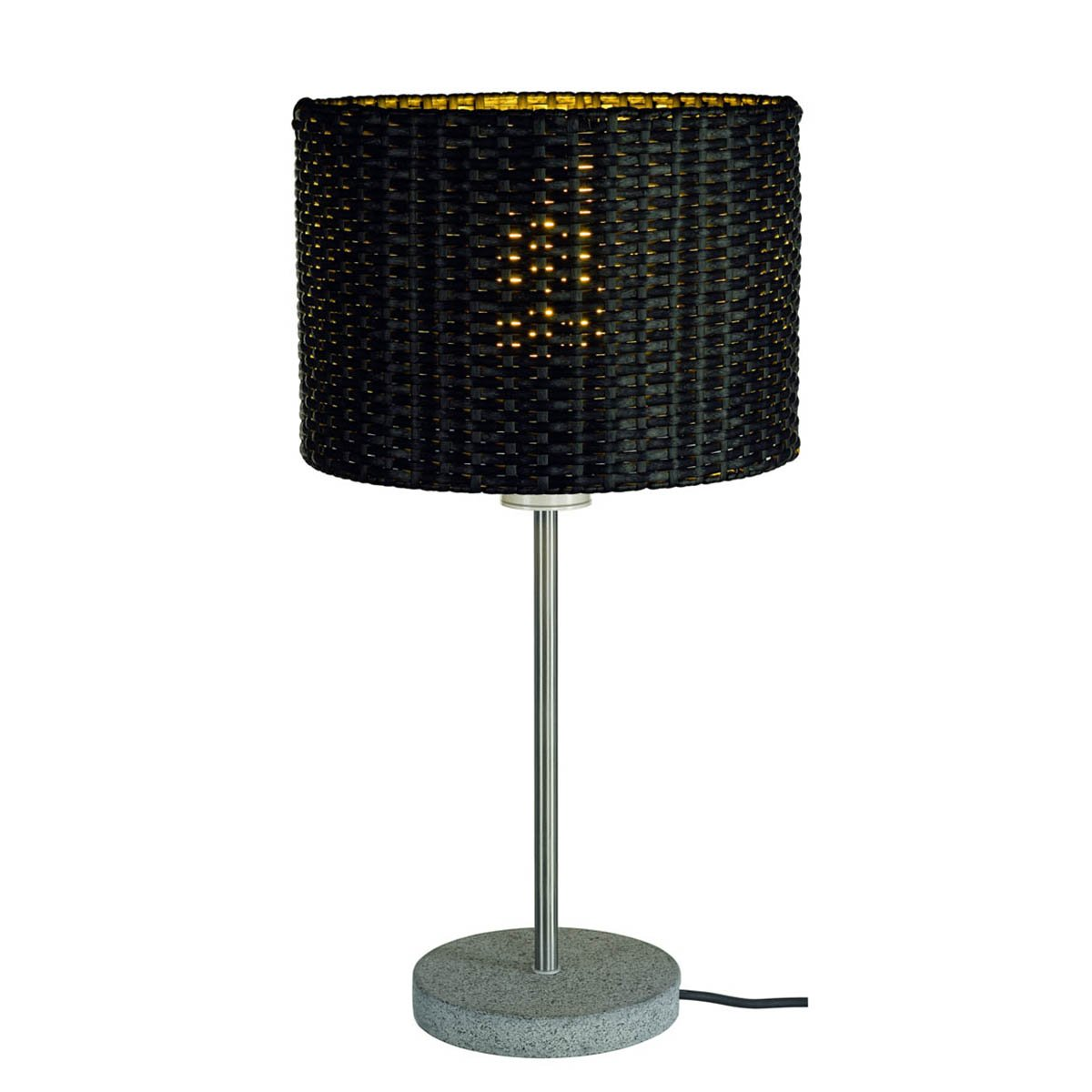 SLV Lighting 231385U Adegan Manila TL Outdoor Table Lamp, Stainless Steel/Anthracite