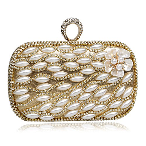 Women's Bag Handbags Evening Bag Hand And Women Crystal For Golden Wedding Ladies Party Clutch Clutch F18qxw85