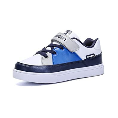 Qianliuk Kinder Casual Schuhe Outdoor Sport Sneakers Velcro Anti-Slip-Mode Boys Trainer r01nSI4