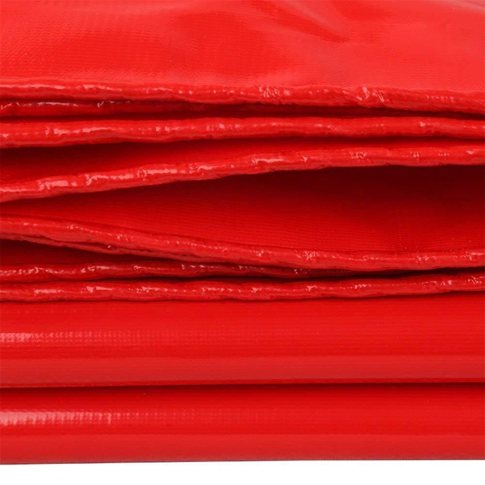 ATR Plane Leichte rote rote rote Dicke 0,45 mm 520g   m \u0026 sup2; Multifunktionsverdickung leicht zu tragen (Farbe  Rot, Größe  6  8m) B07Q5TY2X1 Kuppelzelte Stilvoll und lustig 53e94e
