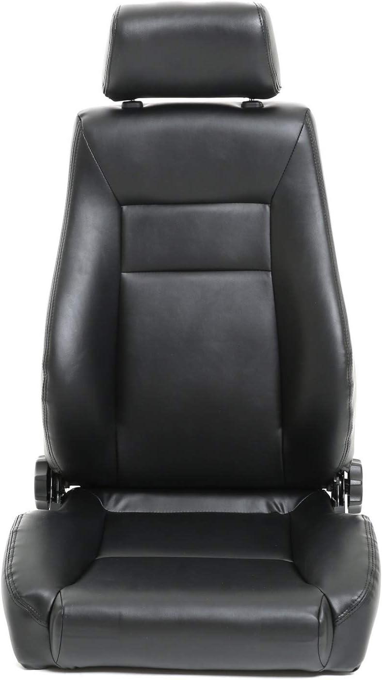Smittybilt 49501 Black Contour Sport Front Seat