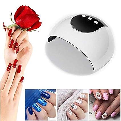 Máquina de fototerapia de uñas. Secador de uñas - Luz de uñas 24W UV Secador