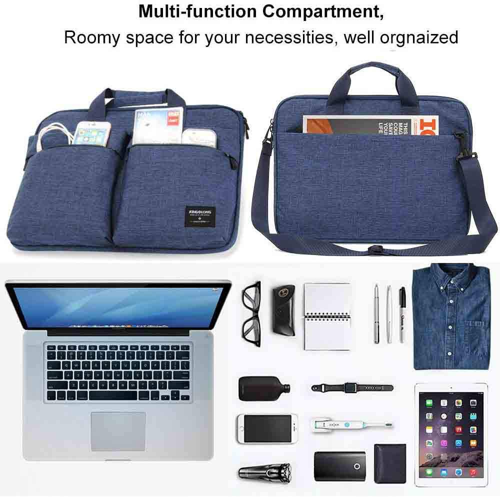 Professional Lightweight Laptop Computer Notebook Ultrabooks Carrying Case Sleeve Handbag Cover for Men Women Fit for Acer Asus Dell Lenovo HP Toshiba ect Red KINGSLONG 15 15.6 Inch Laptop Case Bag Sleeve