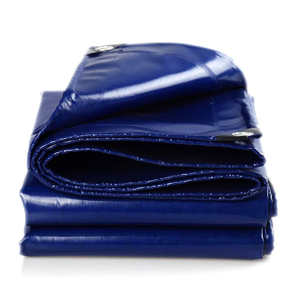 Bleu 3X6m YUBU Tissu de pluie capitonné bleu, bÂche imperméable extérieure imperméable extérieure de tissu imperméable de prougeection solaire de bÂche de prougeection contre le soleil de bÂche de pr