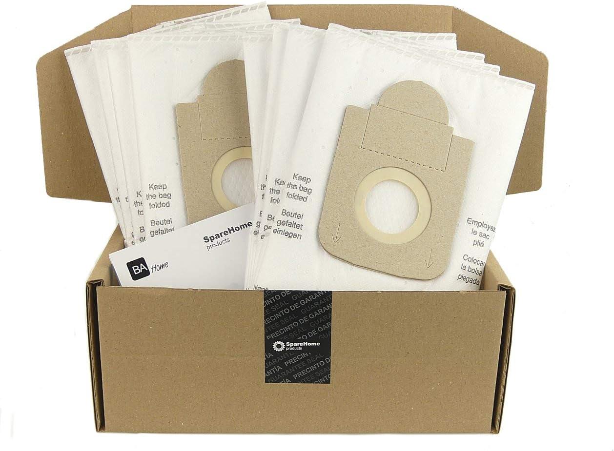 SpareHome Products - 10 Bolsas de Alto Rendimiento ZR200520 para ...