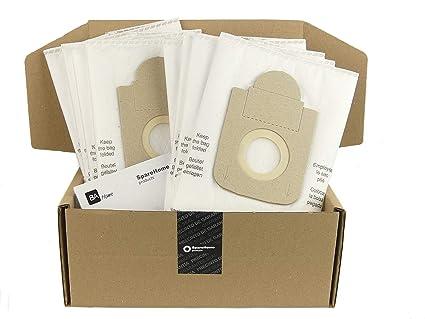 SpareHome 10 Bolsas 2 microfiltros recortables para ...
