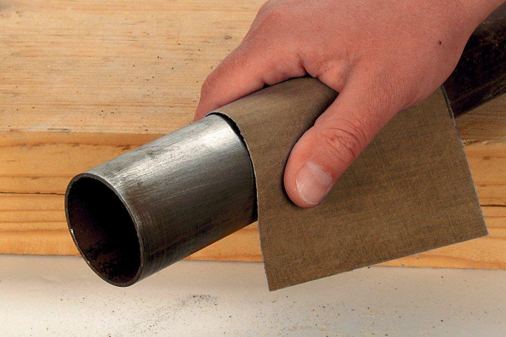 Wolfcraft 2880000 Feuille abrasifs en toile /émeri Grain 40 230 x 280 mm