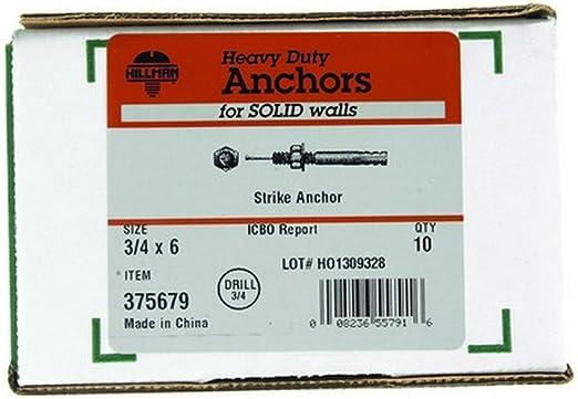 STRIKE ANCHOR 3//4X6 by HILLMAN MfrPartNo 375679