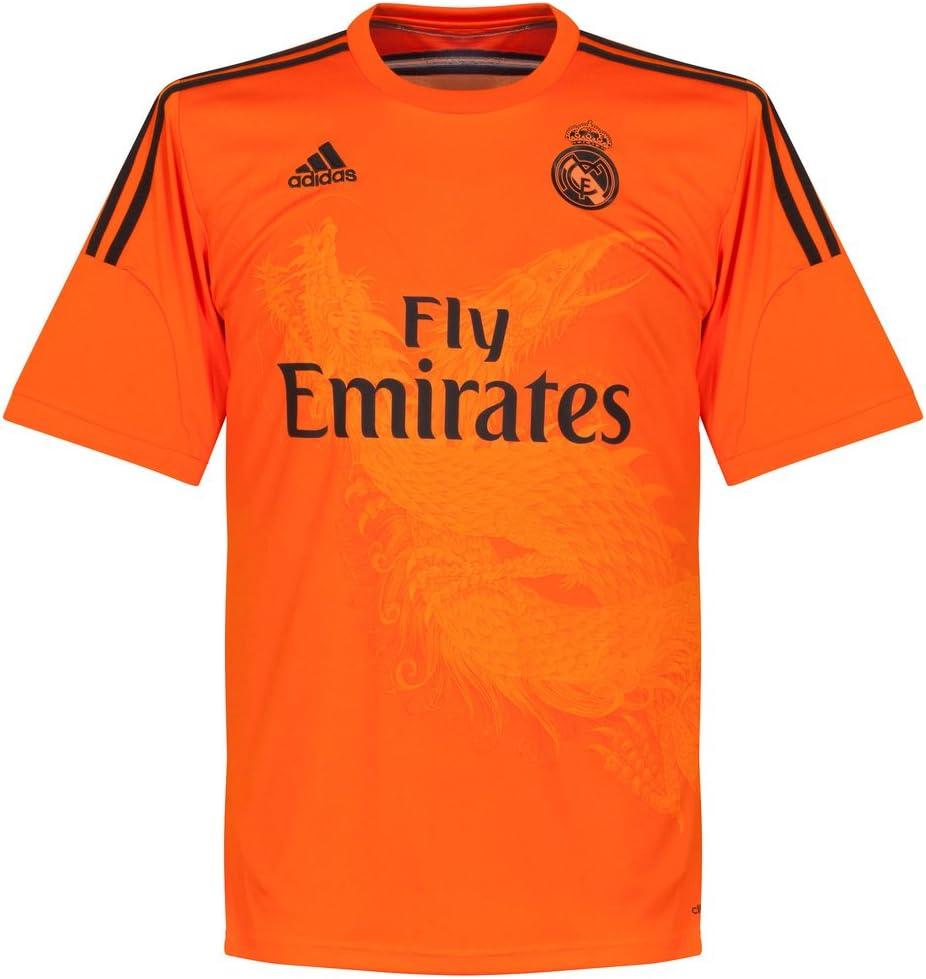 Camiseta Real Madrid Portero 3ª 2014-15: Amazon.es: Deportes y aire libre