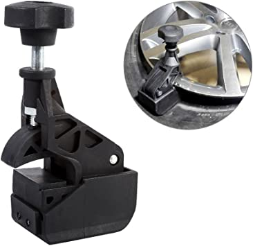 Tbest Tire Changer Clamp,Nylon Tire Changer Bead Clamp Drop Center Tool Rim Clamp Heavy Duty Machine for Most Tire Changer Black