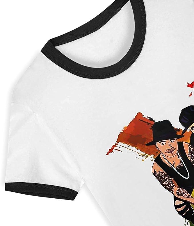 Nicky Jam X J-Balvin 2-6Y Camiseta Estampada de Dibujos ...