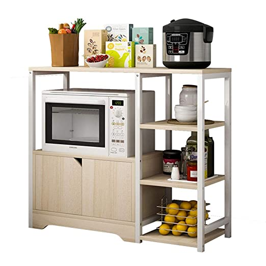Estanterías para horno microondas Estante de la cocina del ...