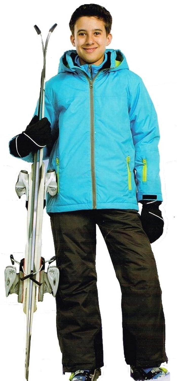 Pocopiano Jungen Skianzug 2tlg. Funktioneller Skianzug Schneeanzug