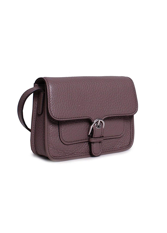 0fac5cb38a23 Amazon.com: MICHAEL Michael Kors Womens Cooper Leather Adjustable Crossbody  Gray Small: Clothing