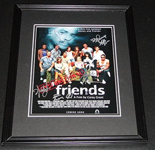 Terrell Owens 8x10 Photo (Terrell Owens Autographed Photo - Dysfunctional Friends Cast Framed 8x10 Poster + 8 - Autographed NFL Photos)
