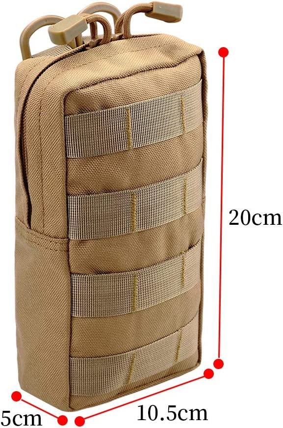 Black JETEDC 4 5 Tactical Utility Molle Small Pouch