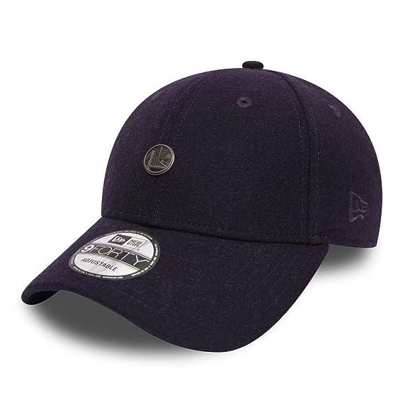 0904650b104 New Era Golden State Warriors 9forty Adjustable Pin Badge Baseball Cap   Navy   Amazon.co.uk  Clothing