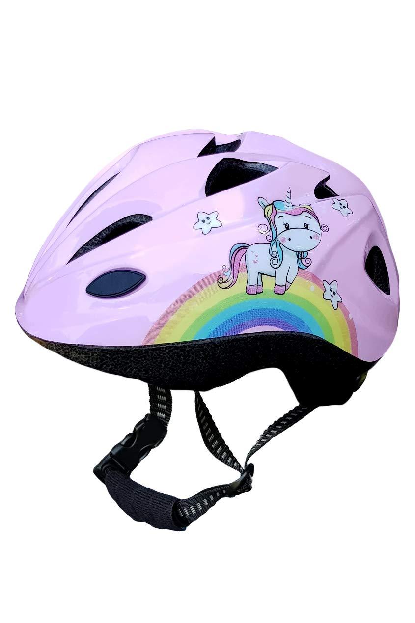 /♥ Dino and Unicorn Skullcap/® Children Bike Helmet /♥ designed by children