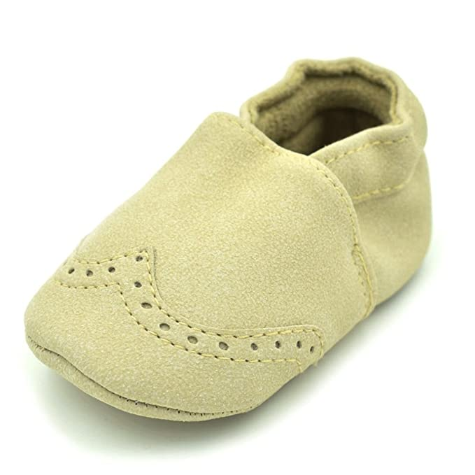 Amazon.com: fabal Zapatos de bebé Nubuck Baby Moccasins ...