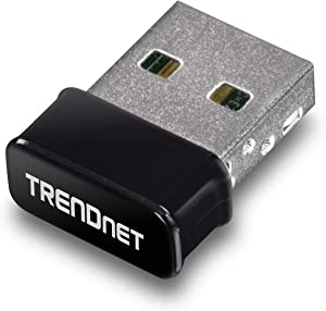 TRENDnet Micro AC1200 Wireless USB Adapter, MU-MIMO, Dual Band Support 2.4GHz/5GHz, Supports Windows/Mac, TEW-808UBM
