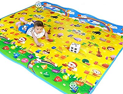 Baby Mat Play Phospherus Single patterns 180*150*0.3cm Waterproof and Outdoor Kids Safety Mats Game Carpet