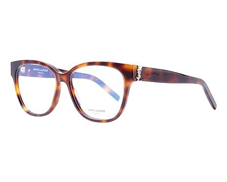 417af7ed6a Yves Saint Laurent - Monture de lunettes - Femme Avana 53: Amazon.fr ...