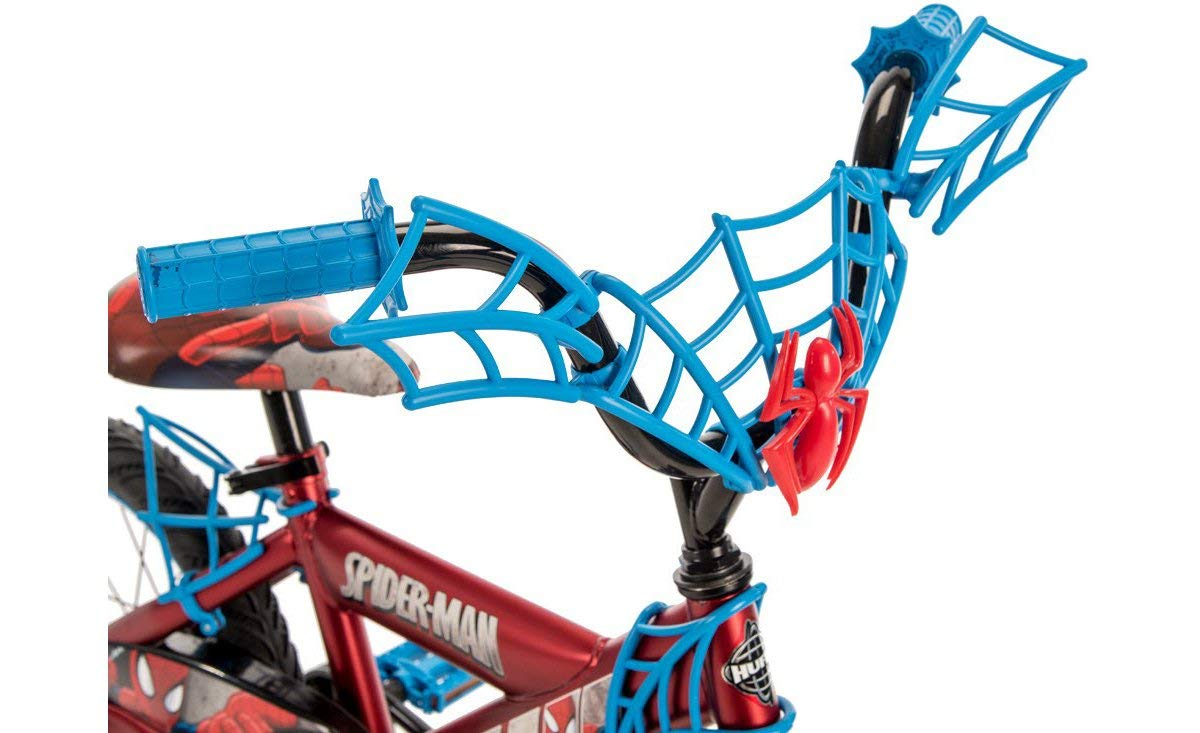 Huffy Boys' Marvel Spider-Man 16 in Bicycle (blue black) by Huffy (Image #4)