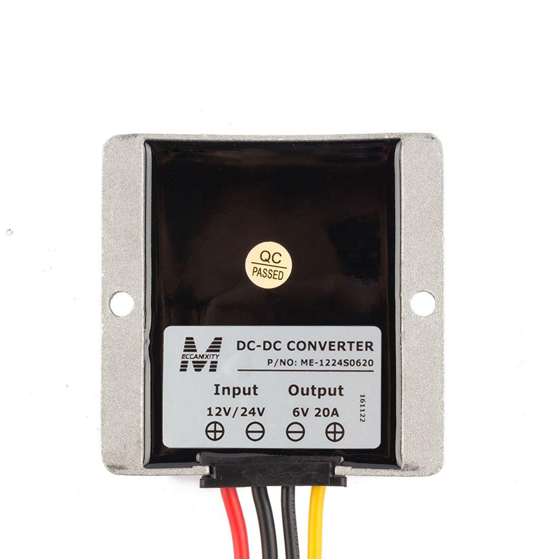 12v 24v To 6v 20a 120w Generic Power Converter Regulator Dc12v Tda2003 Voltage Dc Circuits Step Down Dc6v Waterproof Convert Transformer