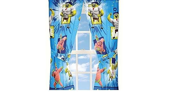4 pc eurosales BV en la película de Bob Esponja cortina de ventana ...