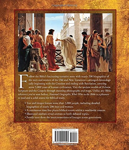 National Geographic Who's Who in the Bible: Unforgettable People ...
