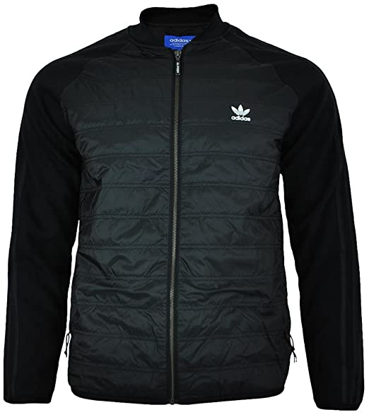 01181dfeba8a adidas Originals Mens SST Thermal Track Jacket in Black  adidas Originals   Amazon.co.uk  Clothing