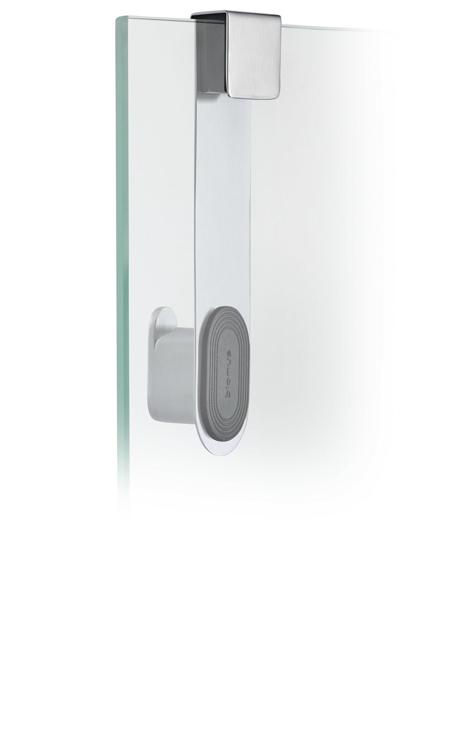 Blomus 68905 Areo Glass Door Shower Hook, Brushed by Blomus (Image #2)