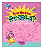 7 year old girl drawing - Gibby and Libby Girl Doodle Activity Book by C.R. Gibson