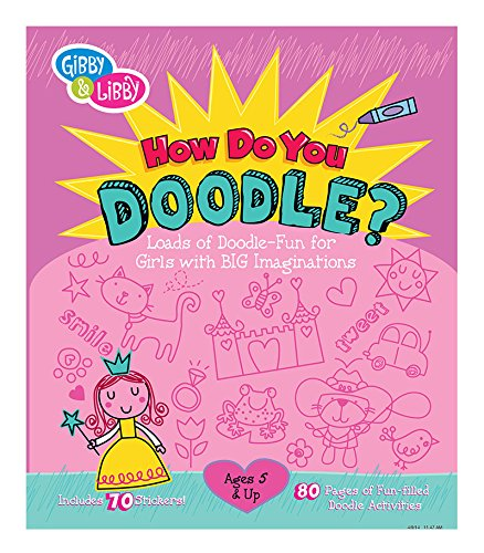 Gibby and Libby Girl Doodle Activity Book by C.R. Gibson
