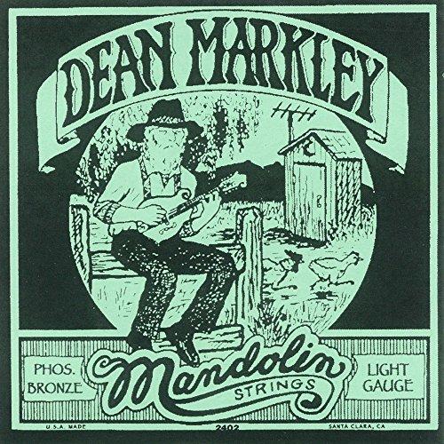(Dean Markley 2402 Phos Bronze Mandolin Strings, Light 11-38)