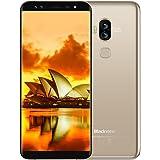 """Smartphone in Offerta, Blackview S8 Dual Sim Smartphone da 5.7"""" (18:9) HD+, 4 Fotocamere SONY 13MP + 0.3MP, 4GB RAM, 64GB ROM, Quad-Core, 4G Cellulari, Android 7.0, Batteria 3180mAh, Fingerprint, GPS, Oro [Italia]"""
