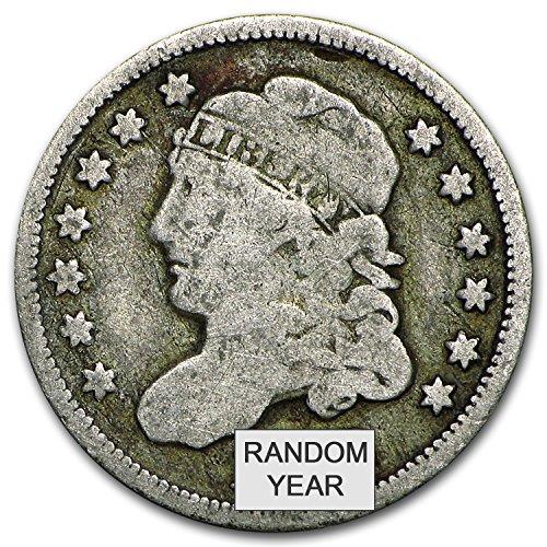 1829 - 1837 Capped Bust Half Dimes Avg Circ Dime Very Good