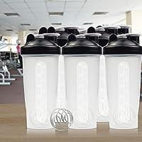 5X Water Bottle Protein Drink Cups Blender Shaker Running Sport BPA Free 700ml