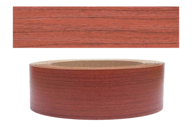 Mprofi (10m rollo) Cantoneras laminadas melamina para rebordes con Greve Caoba Pore 45 mm