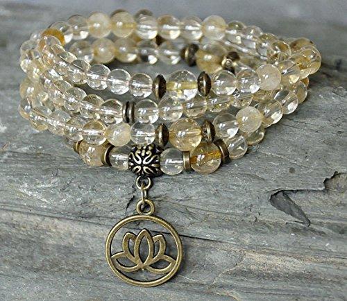 Abundance Necklace Gemstone meditation Bracelets