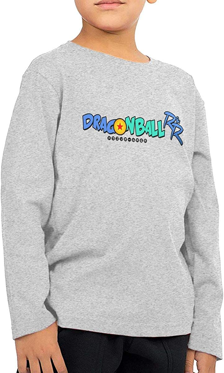 GongCZL Designed Dragon Ball Logo T Shirts for Baby Boys Girls Black