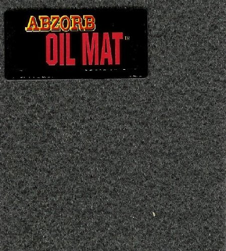 Garage Oil Abzorb Mat for Under Cars, Size 6' x 20' Ships for $2.99