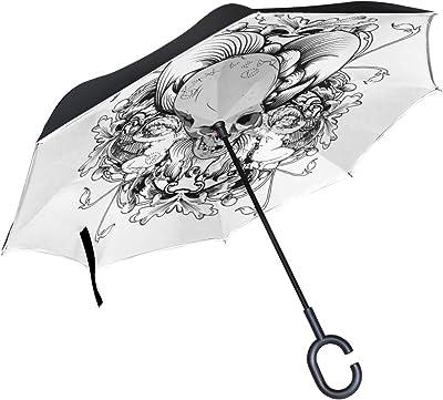 parapluie tête de mort 1