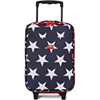 Penny Scallan Wheelie Bag Navy Star Trolley Suitcase (2 Wheels) – Navy