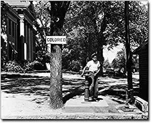 Civil Rights Segregated Water Fountain 1938 8x10 Silver Halide Photo Print