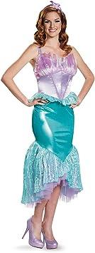 Disfraz de Ariel La Sirenita Deluxe para Mujer: Amazon.es ...